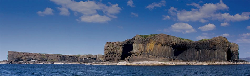The island of Staffa